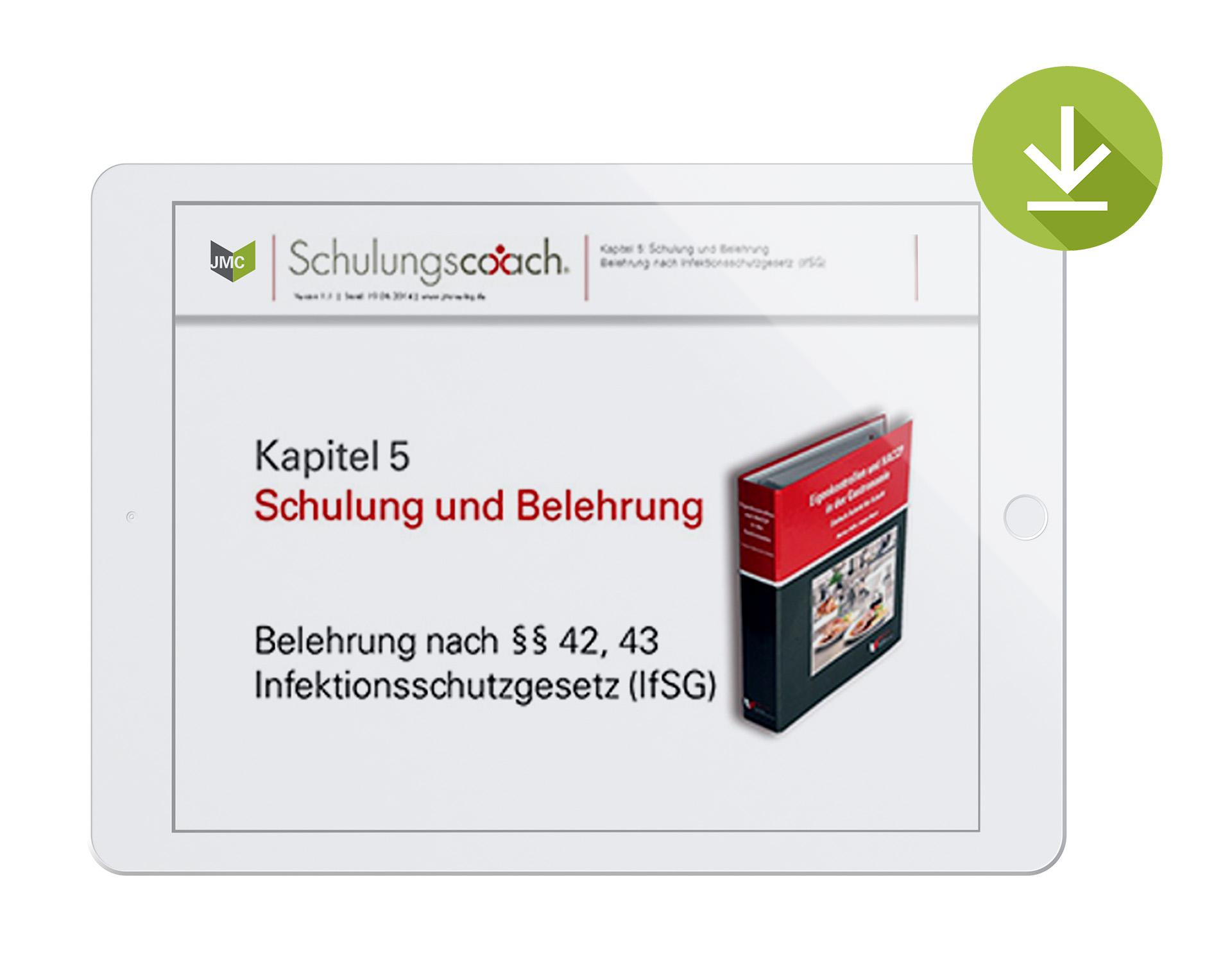Schulungspaket Infektionsschutzgesetz - Zum Download